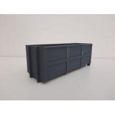 Container bak licht gewicht 40m3 voor kabel systeem