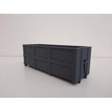 Container bak licht gewicht 40m3 geïntegreerde haakopname.