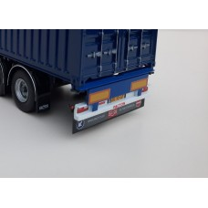 Achterbumper Pacton container chassis