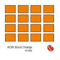 Adr bord oranje
