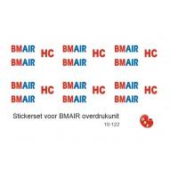 BM AIR Overdruk unit logo`s