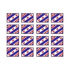 Friese vlaggen Adr bord