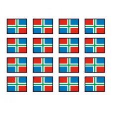 Groninger vlaggen Adr bord