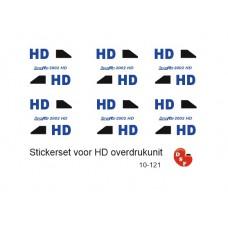 HD Logo`s voor overdruk unit