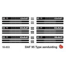 DAF 95 type set