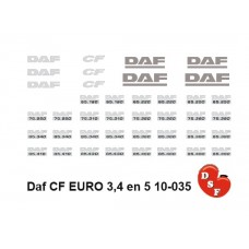 DAF CF Euro 3-5 Type set