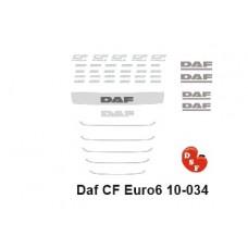 DAF CF Euro 6 Type set