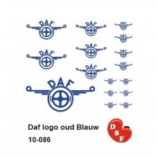 Daf logo oud Blauw