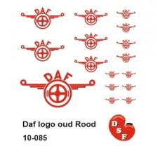 Daf logo oud Rood