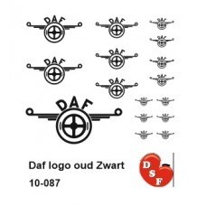 Daf logo oud Zwart