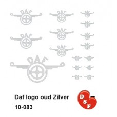Daf logo oud Zilver