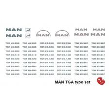 MAN TGA Type set
