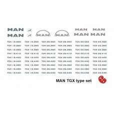 MAN TGX Type set