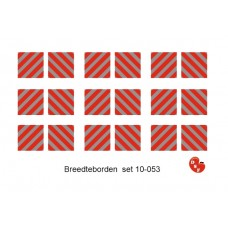 Breedteborden set