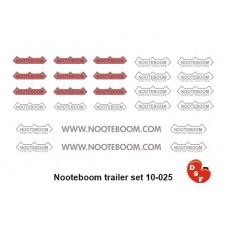 Nooteboom oplegger set