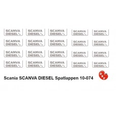 Scania Scanva Diesel Spatlappen