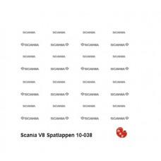 Scania V8 Spatlappen
