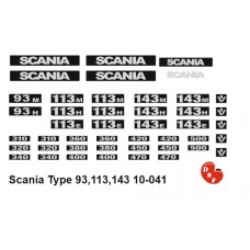 Scania 93-113-143 type set