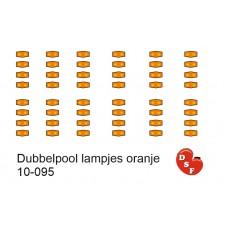Markeringslichten Dubbelpool oranje