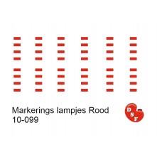 Markeringslichten Rood